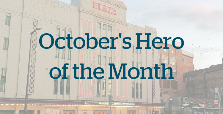 October's Hero of the Month