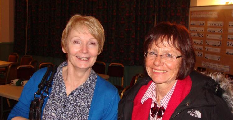Shirley Hamlett & June Westley
