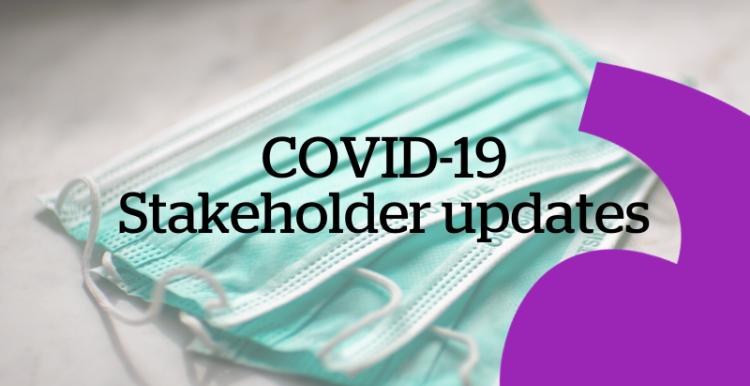 Stakeholder updates