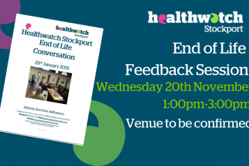 End of Life Feedback Session