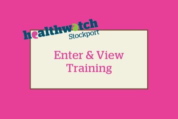 enter and view training