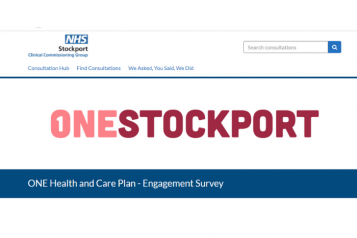Stockport ccg - ONE SURVEY