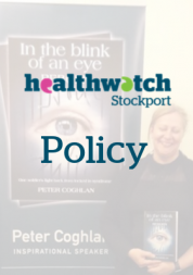 healthwatch stockport policy sign