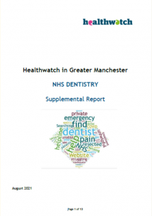 Dentist report