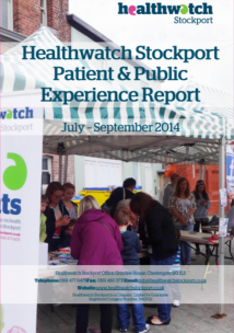 Patient and public report